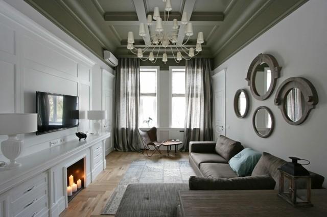 Le salon moderne et contemporain en 30 exemples - Decoration ...