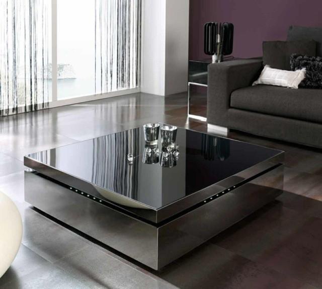canapé table basse assorti couleurs meuble