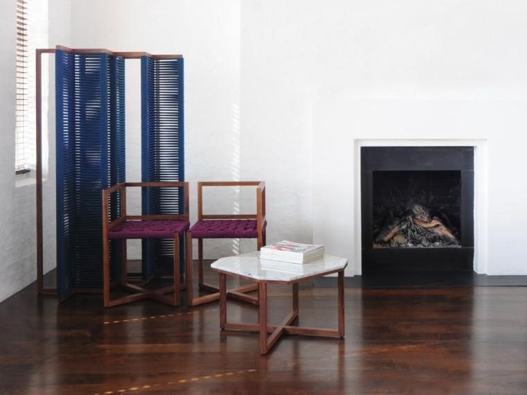 table basse design marbre salon decoration moderne