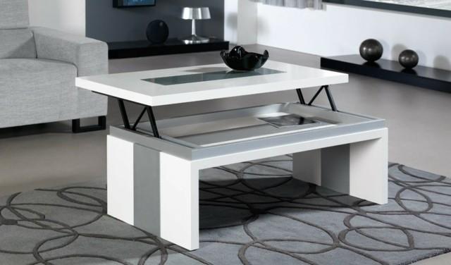 table basse design stocker espace pratique