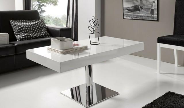 table design pied métallique unique grande