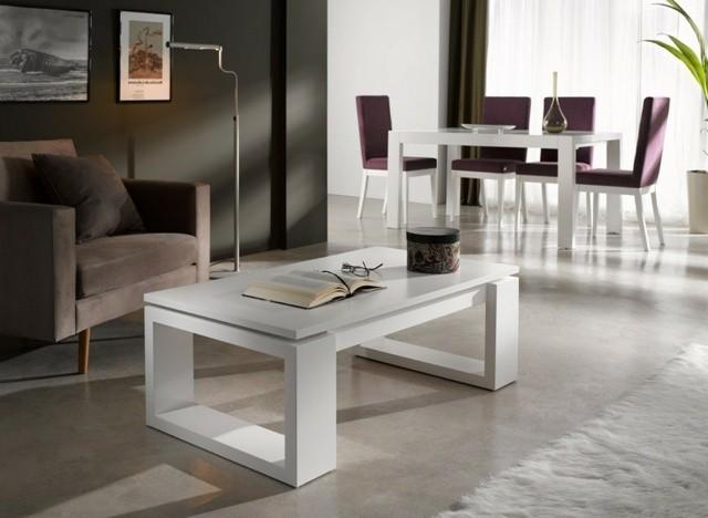 table design construction pieds carré hauteur moyenne