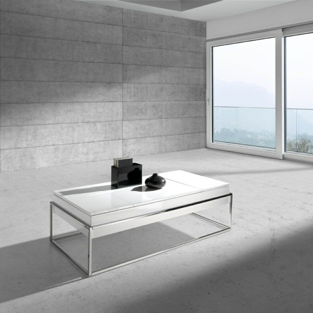 table design stérile simple style siplicité efficace