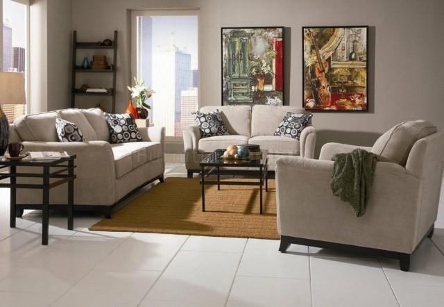coussins fantaisie pour une touche différente canapé salon