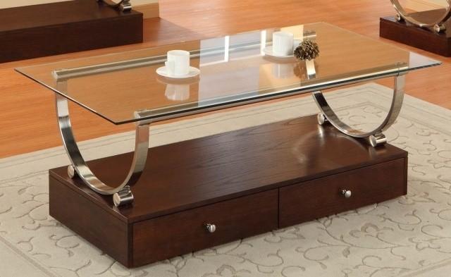 double-table-basse-en-verre-forme-rectangulaire