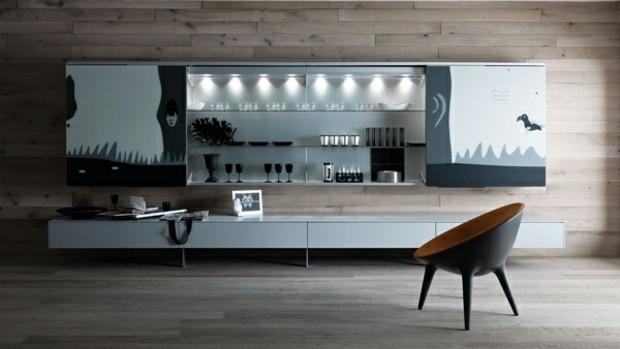 mobilier de salon minimaliste elegant fonctionnel
