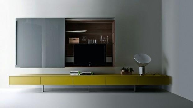mobilier minimaliste lignes epurees design contemporain