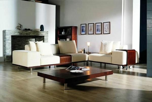 salon elegant canape angle