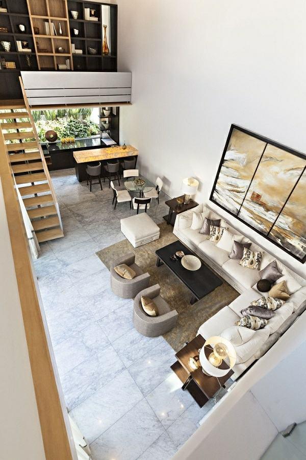salon moderne canape deco