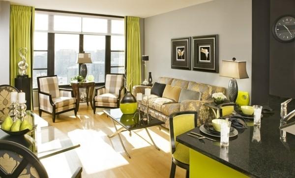 salon moderne style classique
