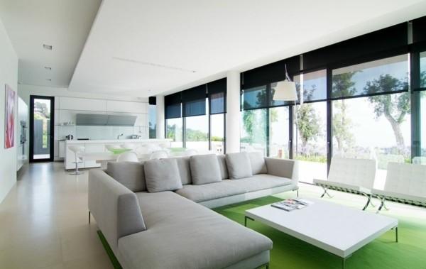 salon moderne style minimaliste