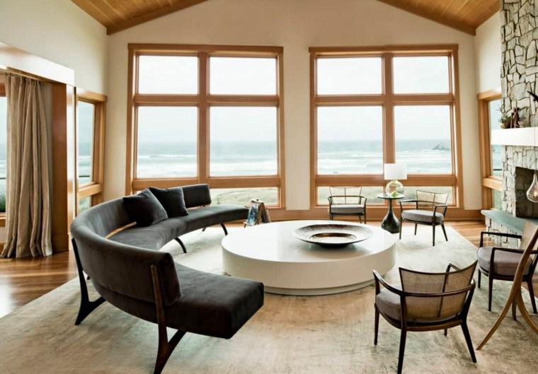 table basse ronde deco interieur meuble salon