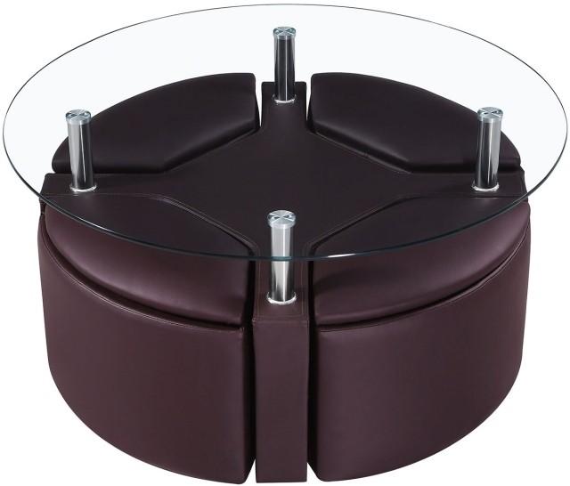 table-basse-ronde-en-verre-idée-originale-salon-cuir