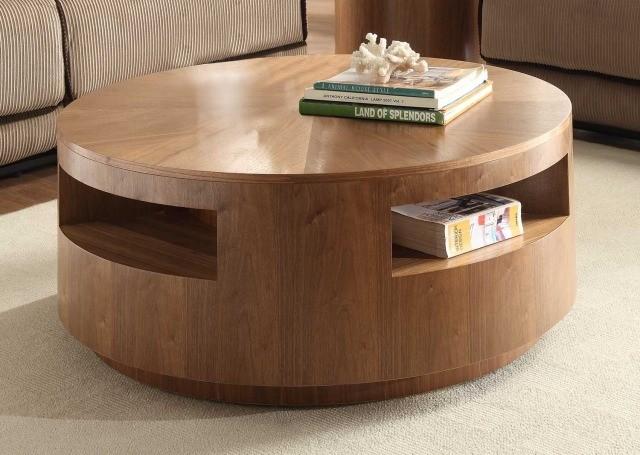 table-basse-ronde-idée-originale-bois