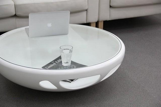table-basse-ronde-idée-originale-couleur-blanche-surface-verre