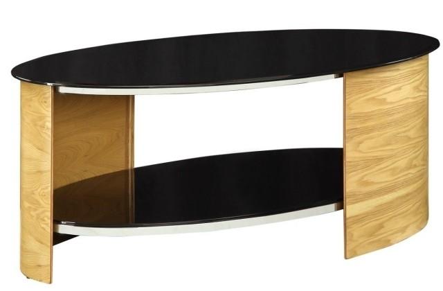 table-basse-ronde-idée-originale-métal-verre-bois