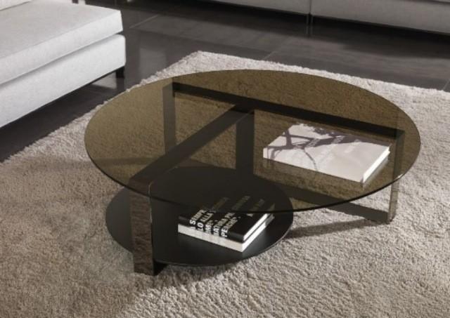 table-basse-ronde-idée-originale-métal-verre