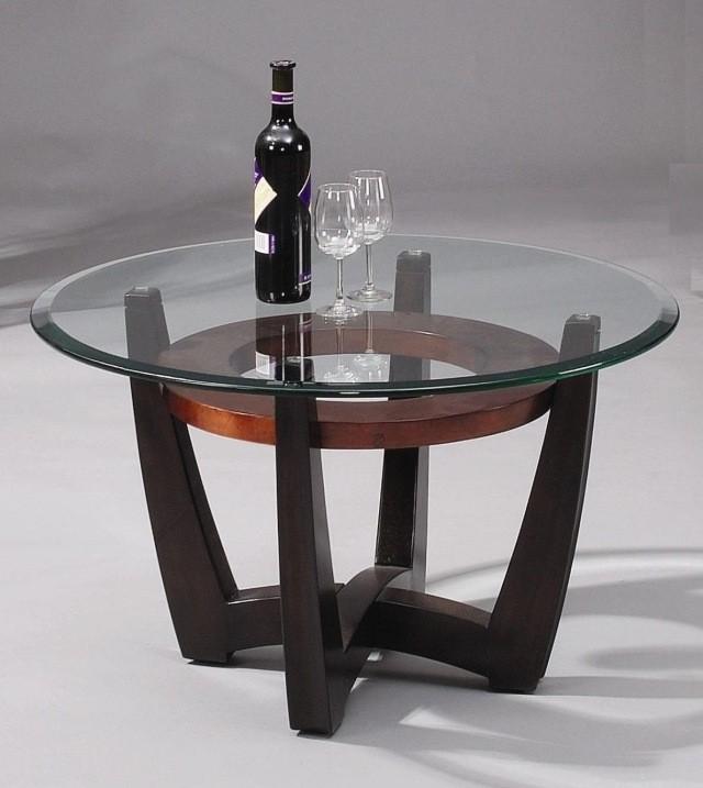 table-basse-ronde-idée-originale-support-bois-surface-verre