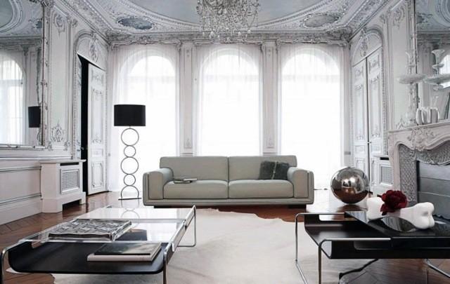 meubles-contemporains-idée-originale-canapé-blanc-salon