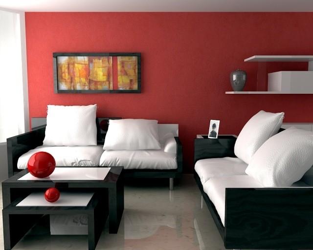 meubles-contemporains-idée-originale-canapé-noir-blanc