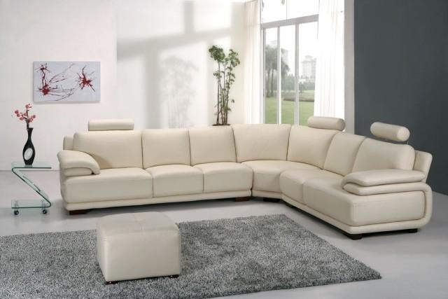 meubles-contemporains-idée-originale-cuir-couleur-blanche
