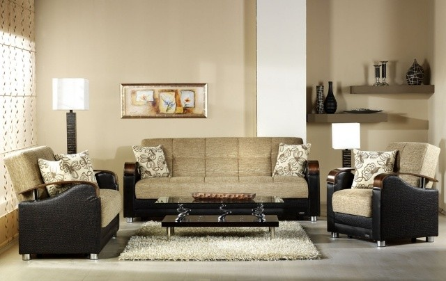 petite-table-salon-table-basse-rectangulaire-noire-canapé-beige table de salon