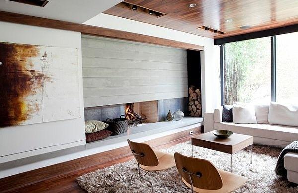 salon style scandinave accueillant touches bois