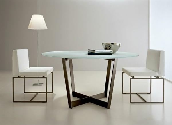 table design contemporain verre