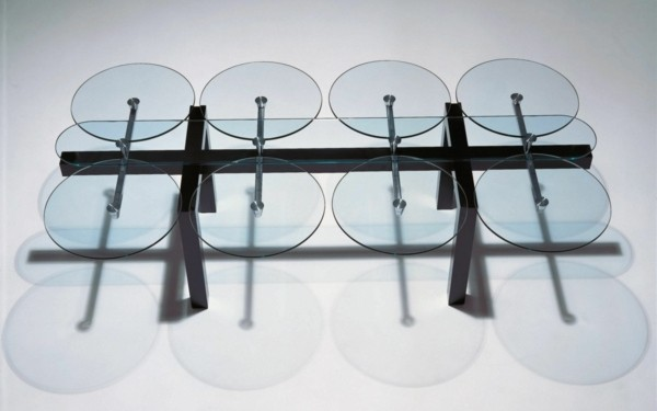 table moderne verre Peter Draenert