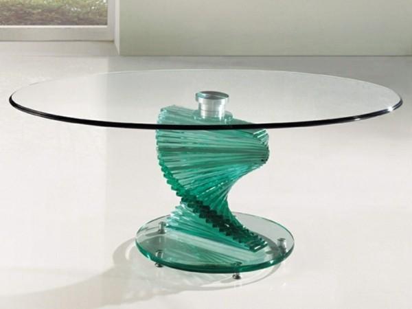 table verre design original