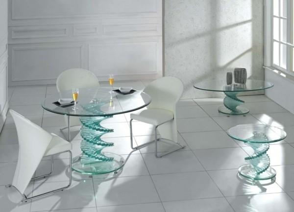 tables verre rondes fenerlist