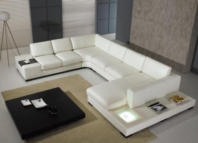 canapé-chaise-salon-confort-complet-idée-originale-cuir-blanche-luxe-elegance
