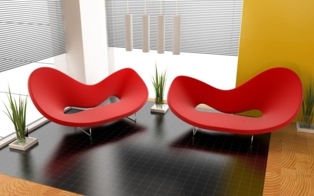 canapé-salon-confort-complet-idée-originale-couleur-rouge