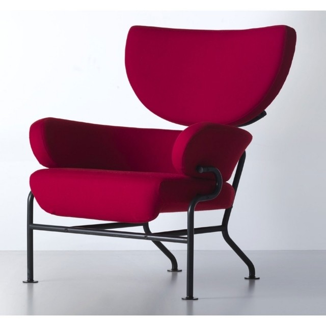 chaise-rouge-salon-confort-complet-idée-originale