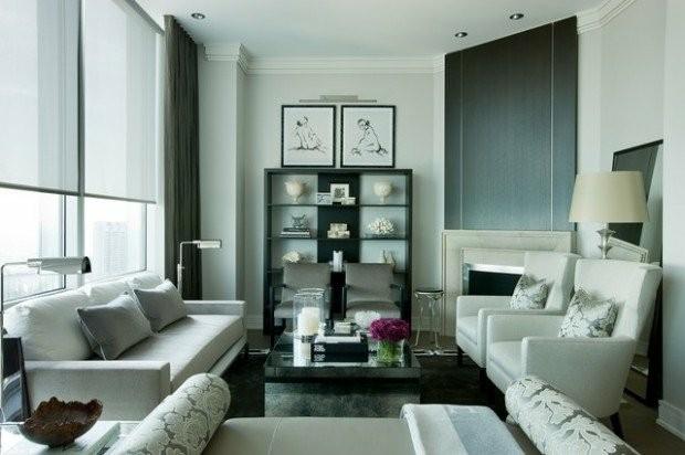 deco elegante salon contemporain