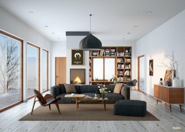 decoration séjour moderne elegant