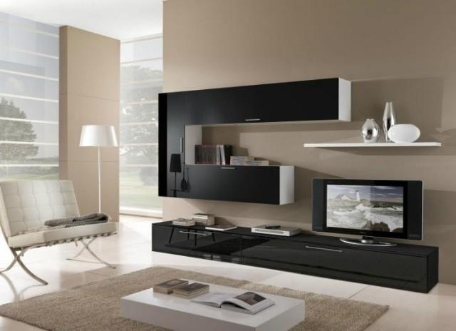 Aménagement de salon avec meubles modernes – 24 idées sympas ...