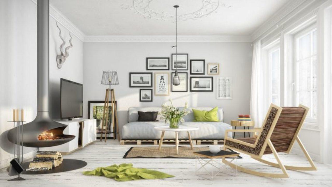 25 idées design pour la déco salon chaleureux en hiver ...