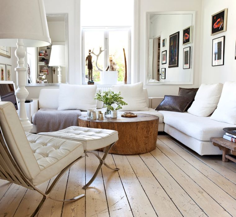 déco salon chalereux meubles revtement bois