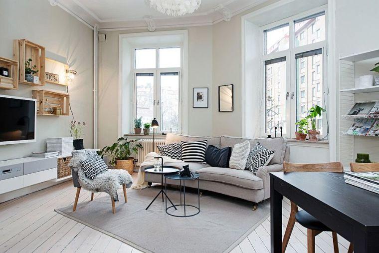 25 Idées Design Pour La Déco Salon Chaleureux En Hiver Decoration