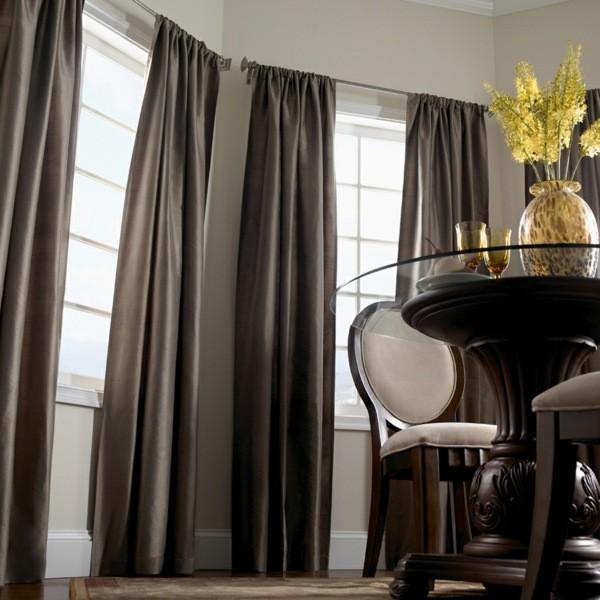 modele rideaux design salon