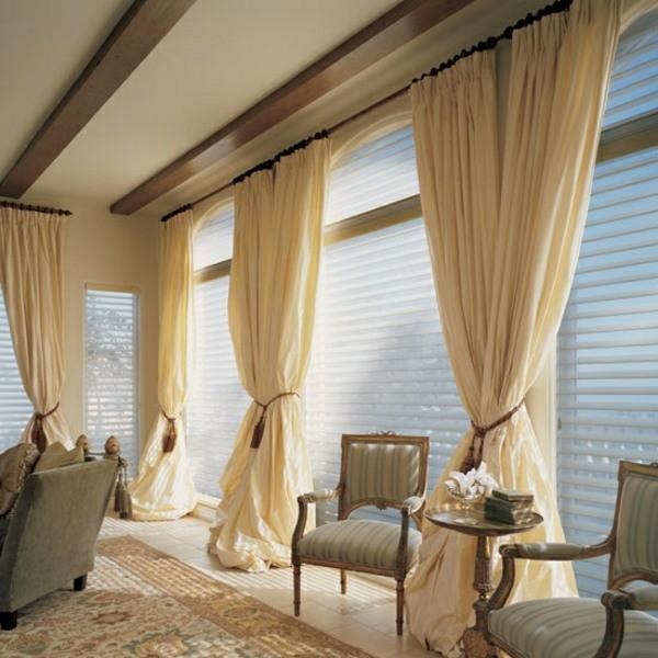 rideaux salon design original moderne