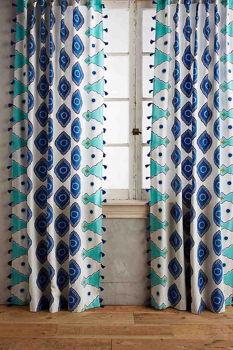 Rideaux salon – 40 idées de rideaux modernes - Decoration ...