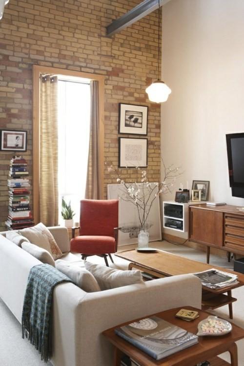 salon clair meubles comfortables