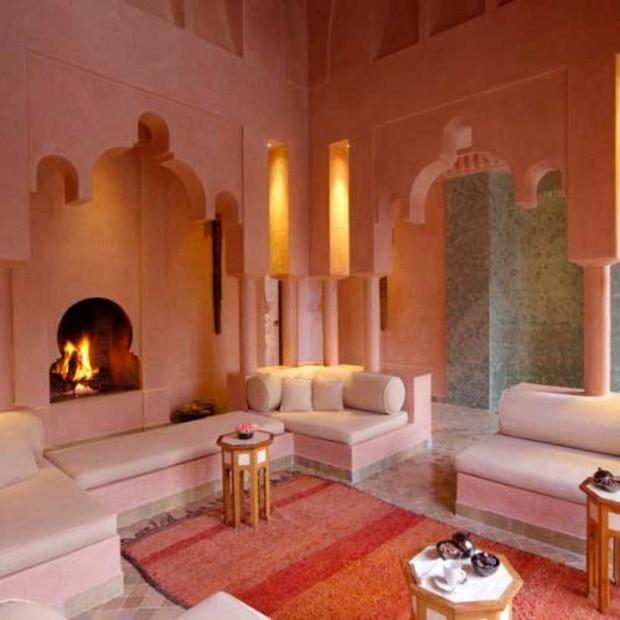 salon marocain design grandes arcs style palais