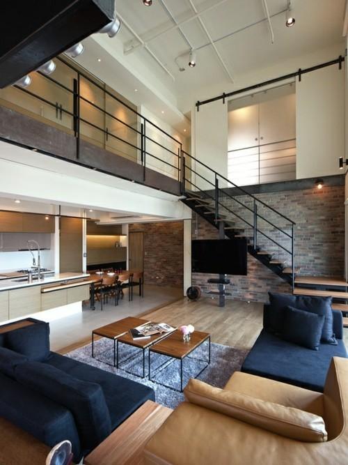 vue salon moderne minimaliste