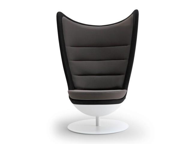 Le fauteuil avec dossier haut par Actiu meuble de vilain drôle