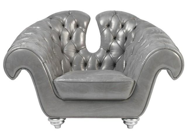 Meubel de luxe par Brummel Cucine royal gris cuir