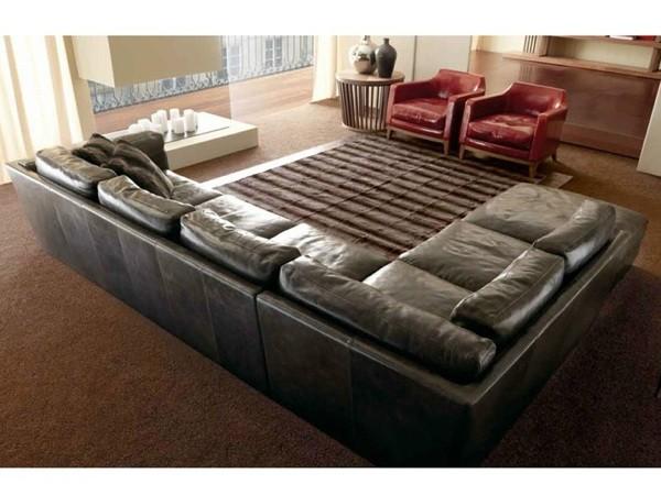 Canapé d'angle par Ulivi Salotti