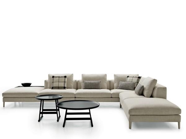 Canapé d'angle moderne par DIVES